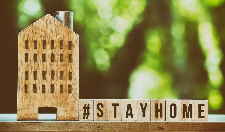 rimanere a casa per salute e benessere