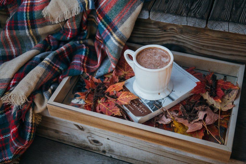 tazza con cioccolato
