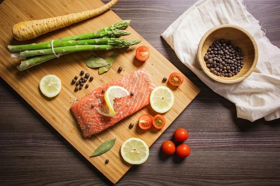 salmone e salute e benessere