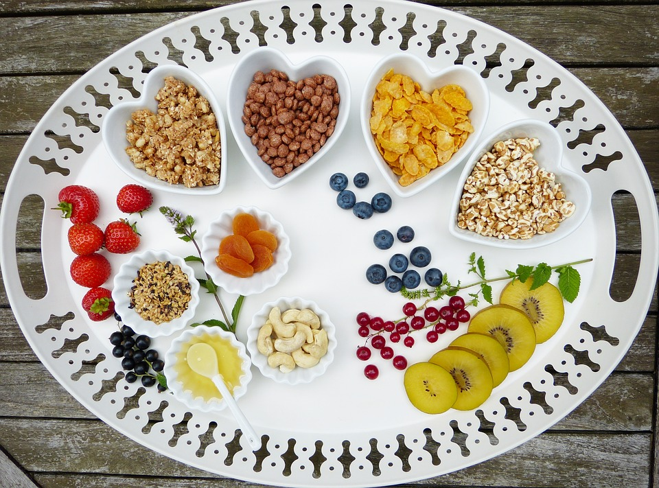 vassoio salute e benessere