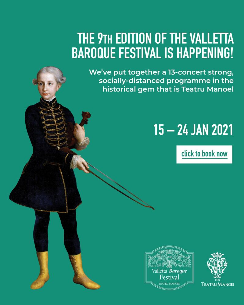 Valletta Baroque Festival 2021