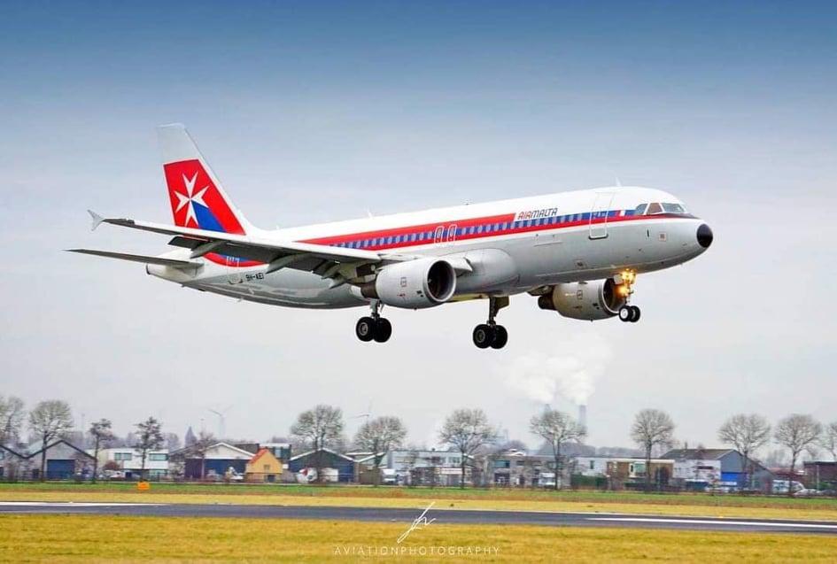 Air Malta, aereo