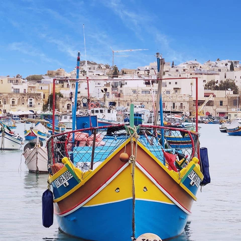 Marsaxlokk, barca