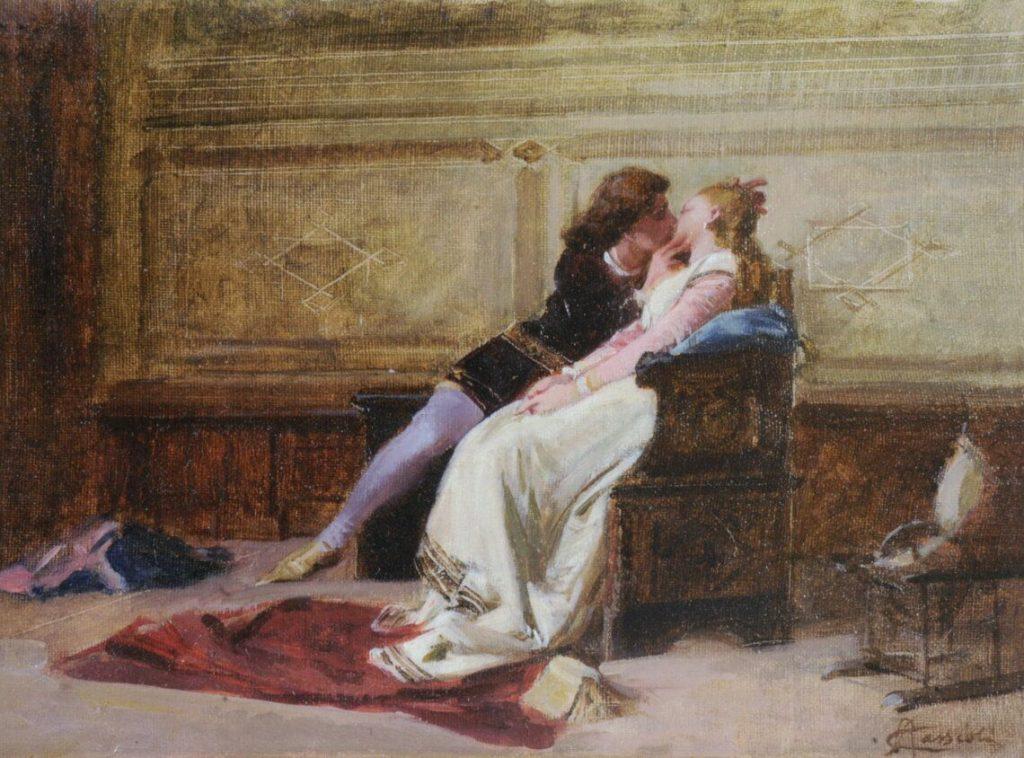 Tributo a Dante - bacio paolo e francesca