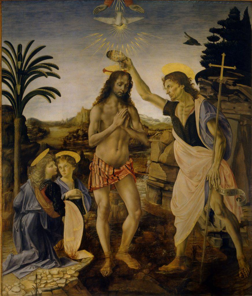 colomba simbolo di pasqua - battesimo di gesù