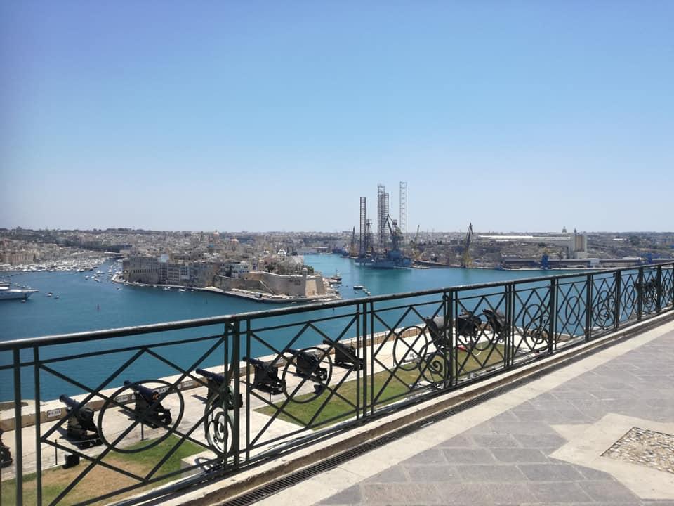 Il Grand Harbour, vista