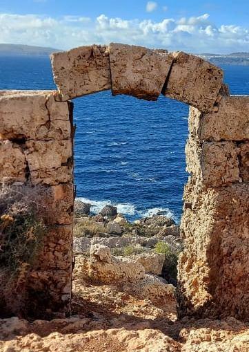 Għar Tuta, la porta sul mare