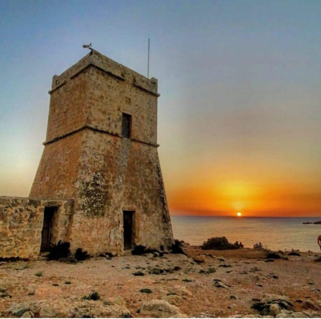 Ghajn Tuffieha - la torre di difesa