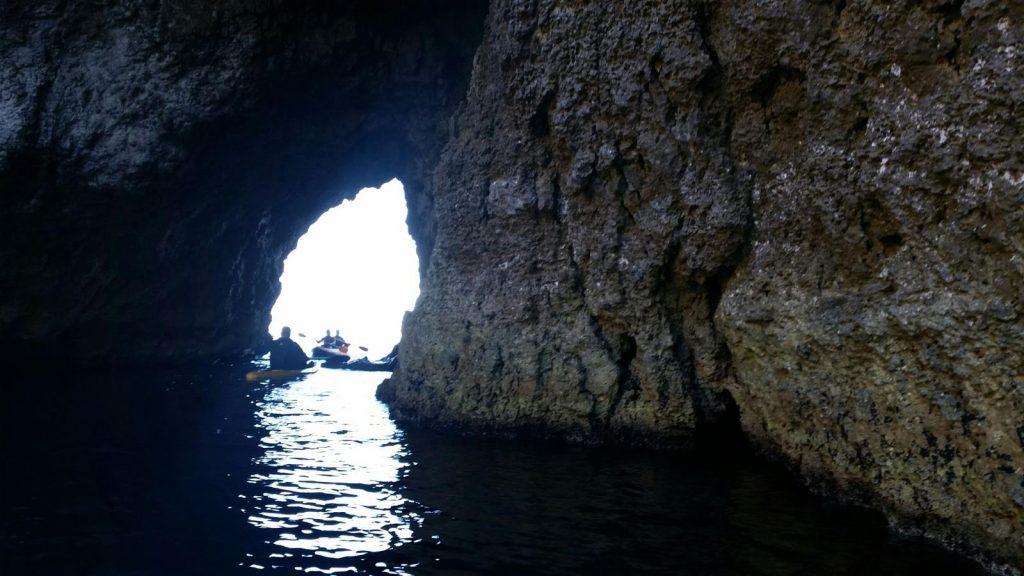ingresso dal mare Coral Lagoon