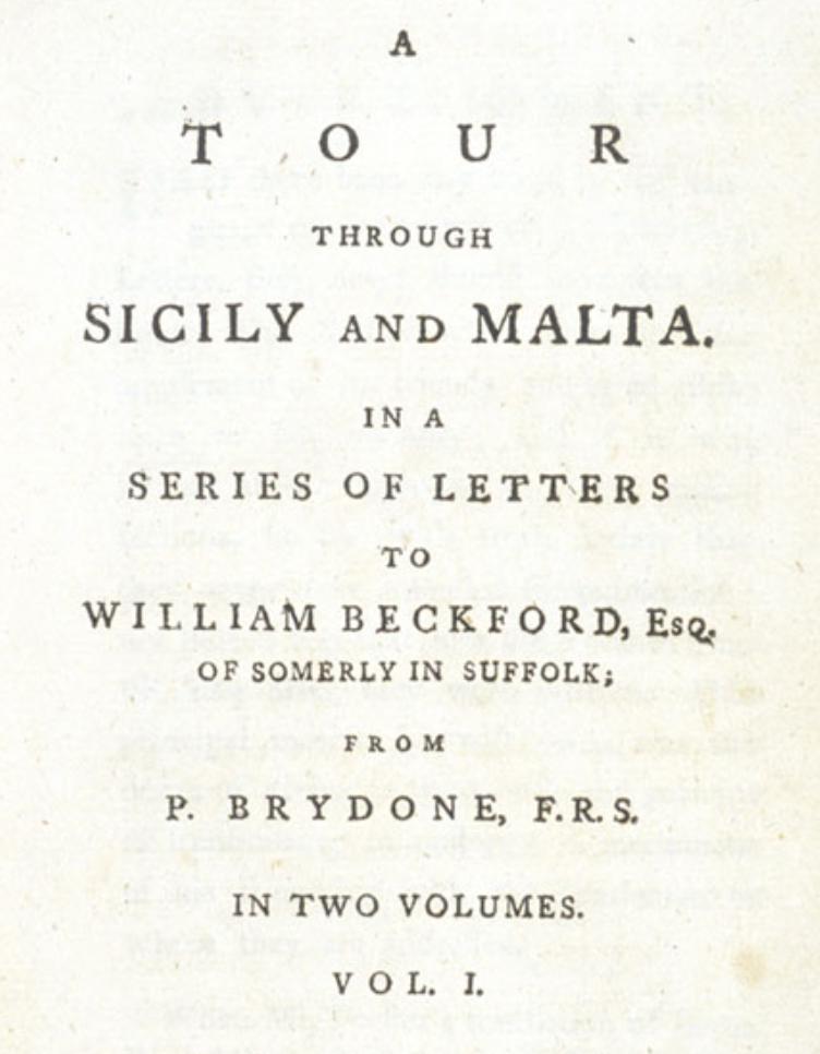 libro Brydone