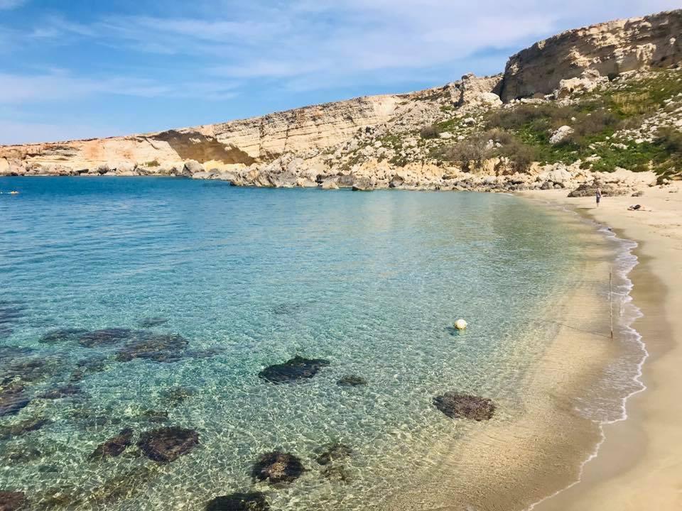 Paradise Bay, spiaggia