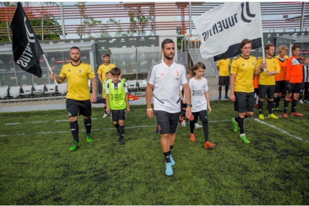 Juventus Accademy Malta Alessio Capraro in campo