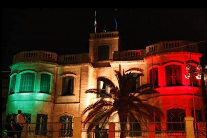 facciata ambasciata italiana a Malta