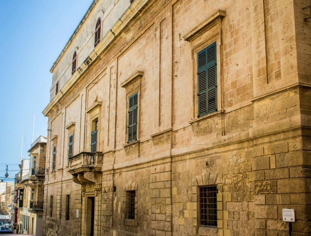 Il Palazzo dell'Inquisizione, facciata