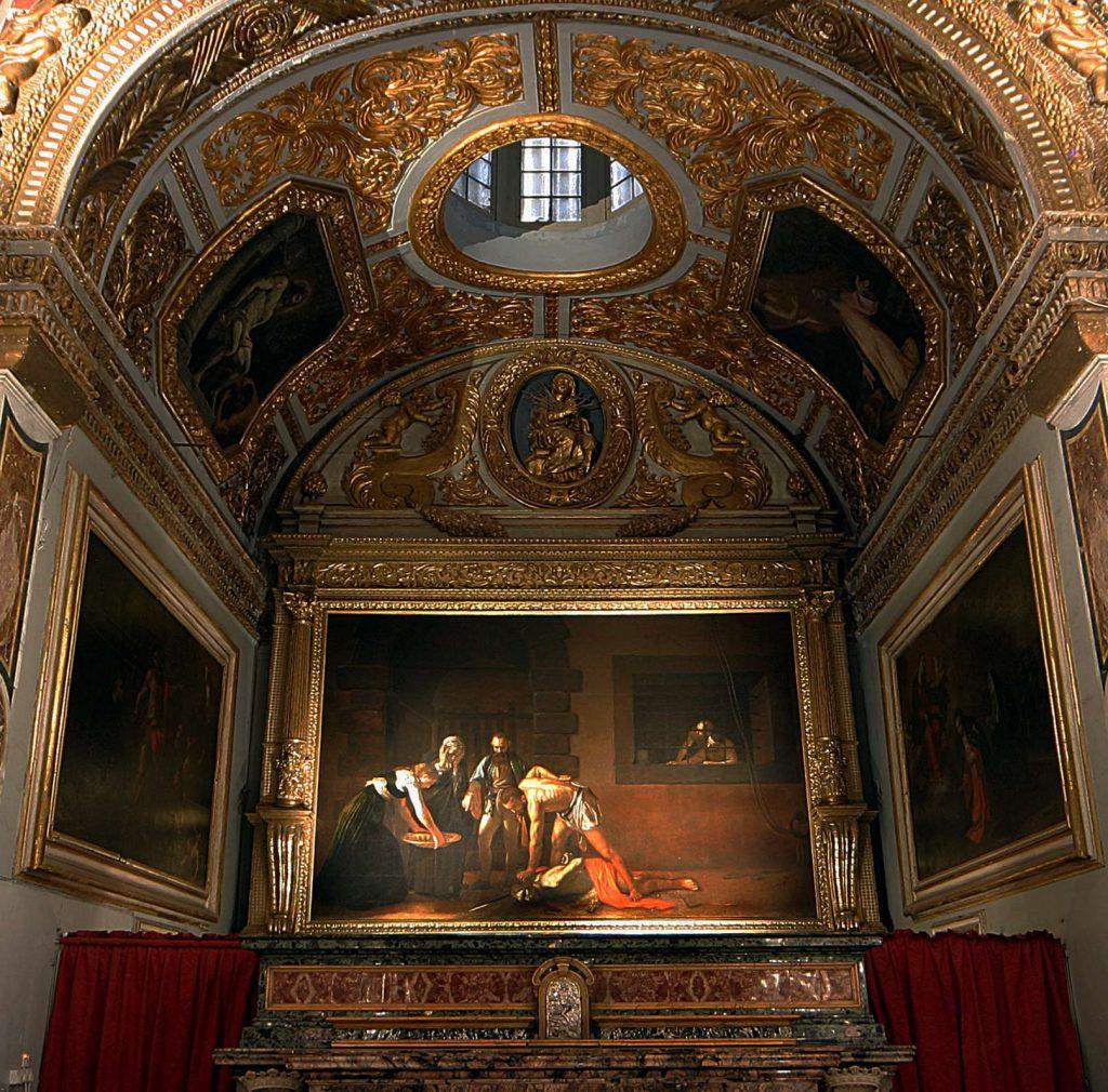 St John's Co-Cathedral - quadro La Decollazione di San Giovanni Battista