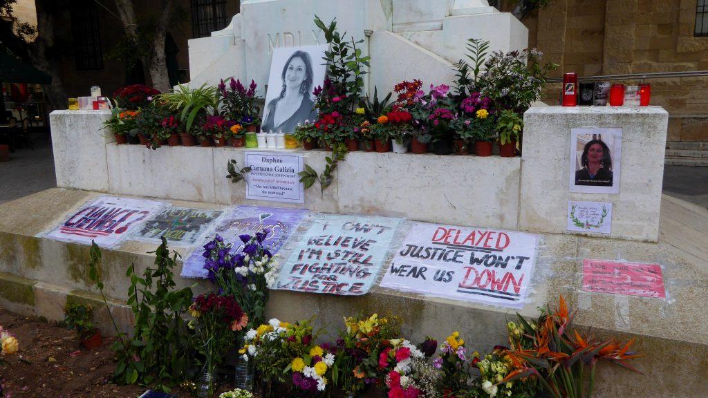 memorial caruana galizia
