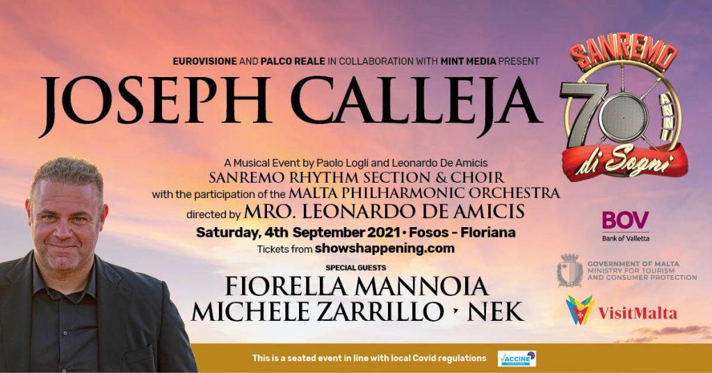 Joseph Calleja, evento