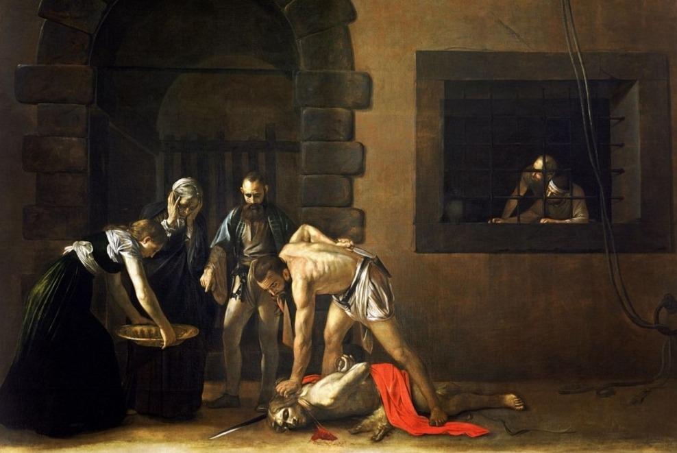 Caravaggio, Decollazione di San Giovanni