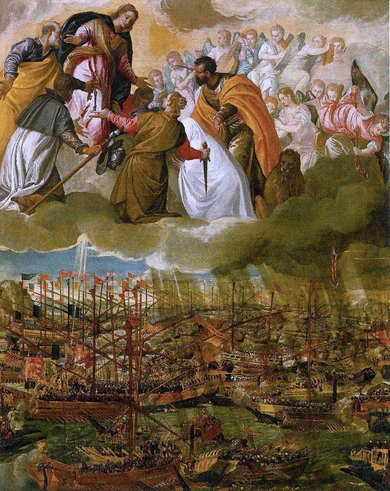 La battaglia di Lepanto di paolo caliari detto il veronese
