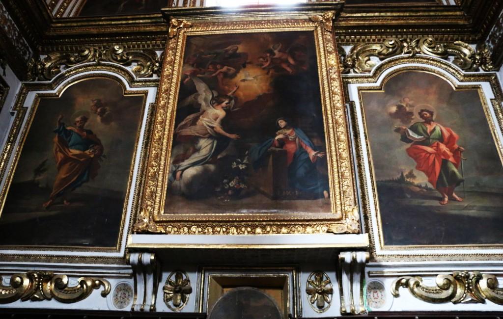 Chiesa dell'Annunziata di Marcianise - L'annunciazione di Massimo Stanzione