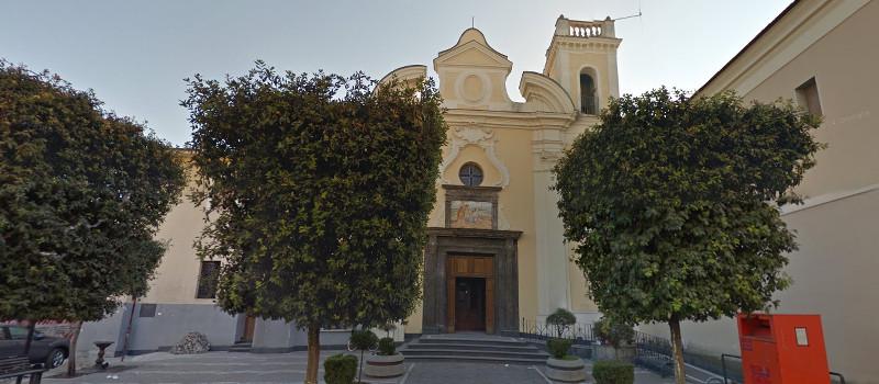 Pasqua a Puzzaniello - chiesa di San Giuliano del Santissimo Sacramento