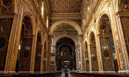 San Michele - Interno del duomo di Marcianise
