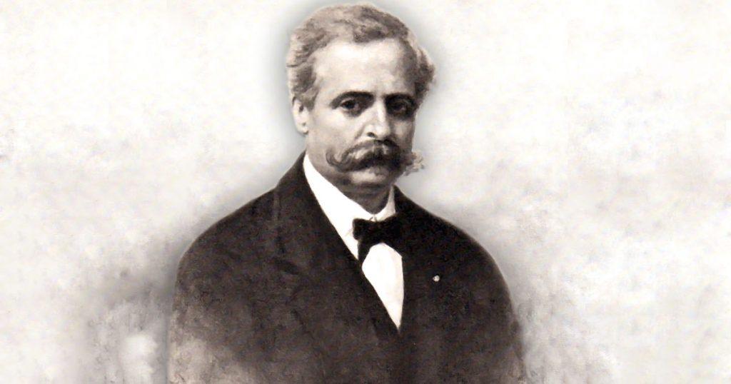 Federico Quercia fu allievo e amico del critico letterario Francesco de Sanctis