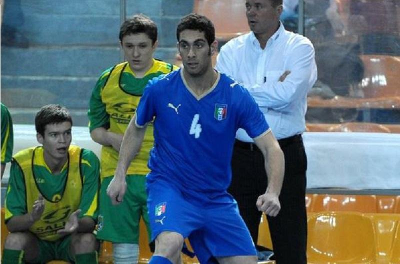 Tommaso Colletta - Francesco Gigliofiorito con la maglia dell'Italia