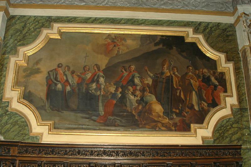 Paolo de Majo - dipinto Processione Sul Gargano