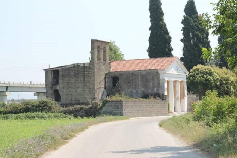 scampagnata a Santa Venere - Strada per Santa Venere