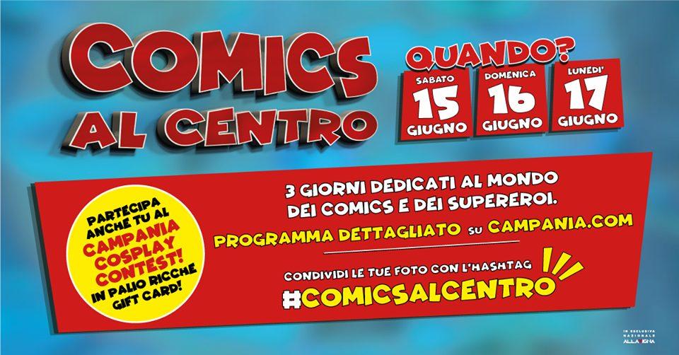Locandina di Comics Al Centro