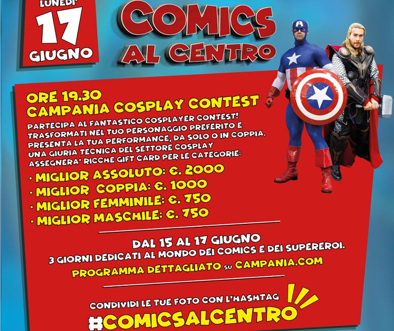 Il Contest di Comics Al Centro