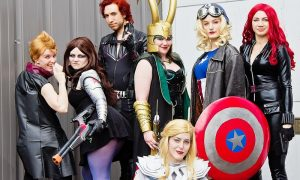 Comics al Centro - Cosplayers