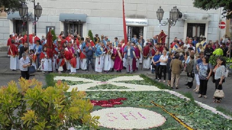 L Infiorata - Processione Corpus Domini