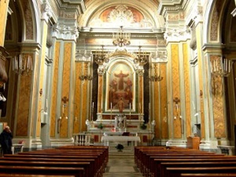 Convento di San Francesco - Interni Della Chiesa Di San Pasquale