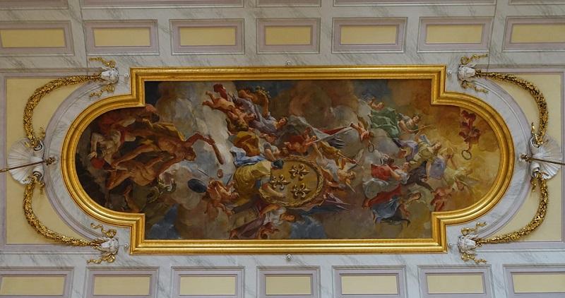 Domenico Mondo - volta del Salone Degli Alabardieri