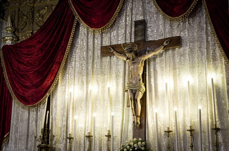 La statua del Crocifisso di Marcianise