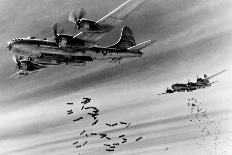 Marcianise nei miei ricordi - Bombardamento