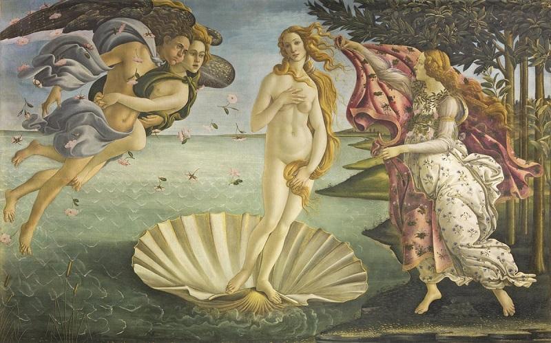 Art Revolution - La Nascita Di Venere Di Sandro Botticelli