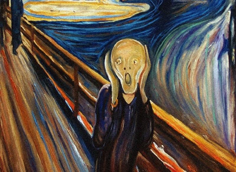 L'urlo Di Edward Munch