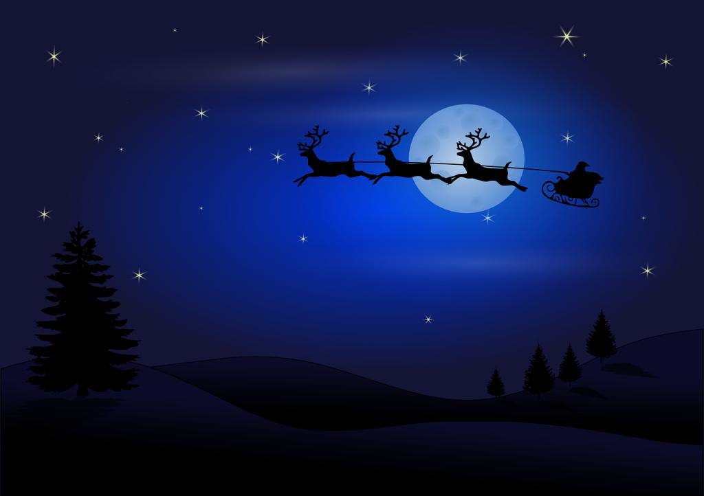 Outlet la Reggia - slitta di Santa Claus