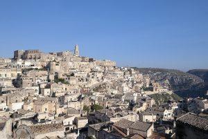 Sassi di Matera - veduta panoramica di Matera