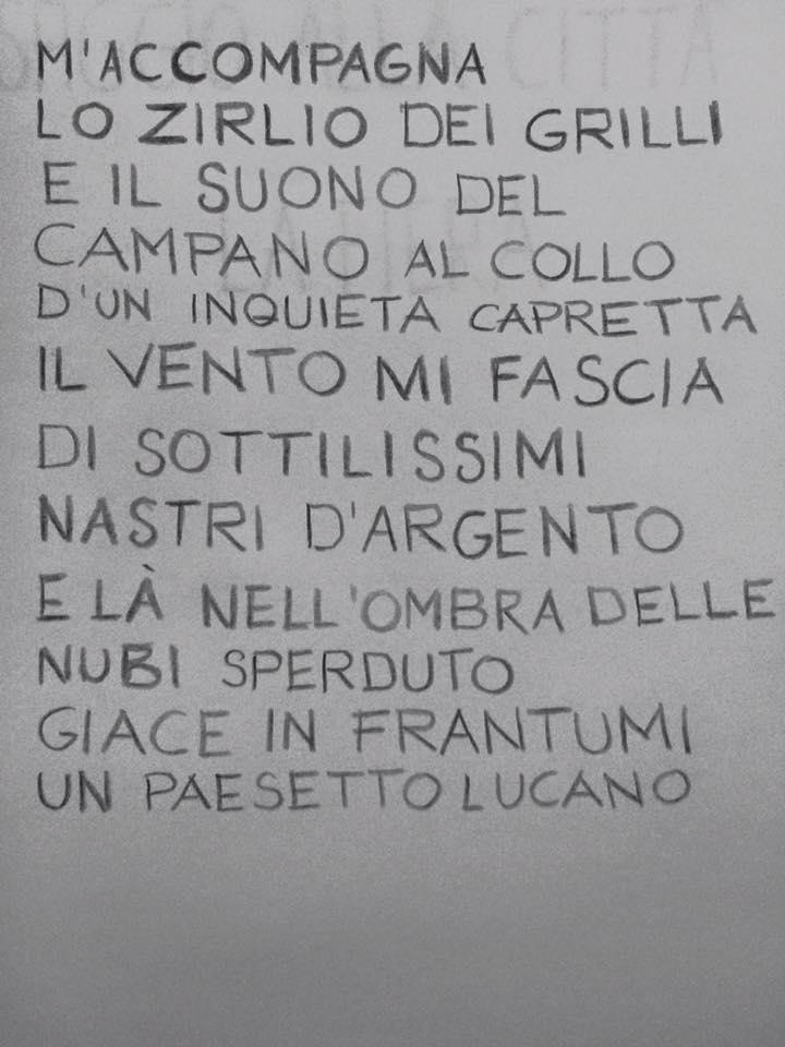 Scotellaro - i versi della poesia Lucania
