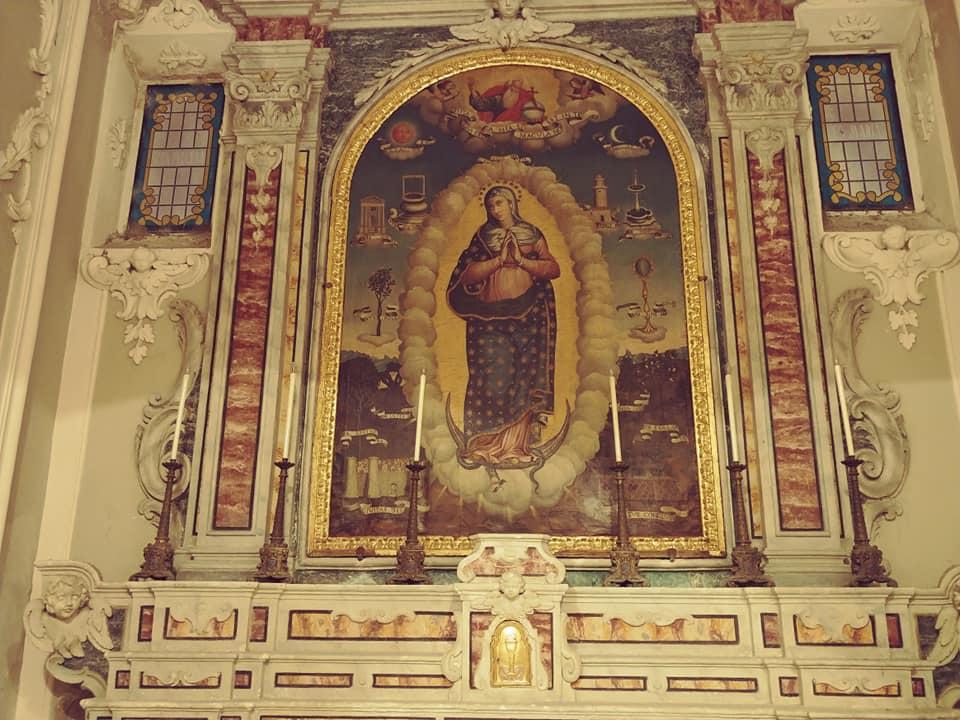 Chiesa San Francesco Altare Immacolata