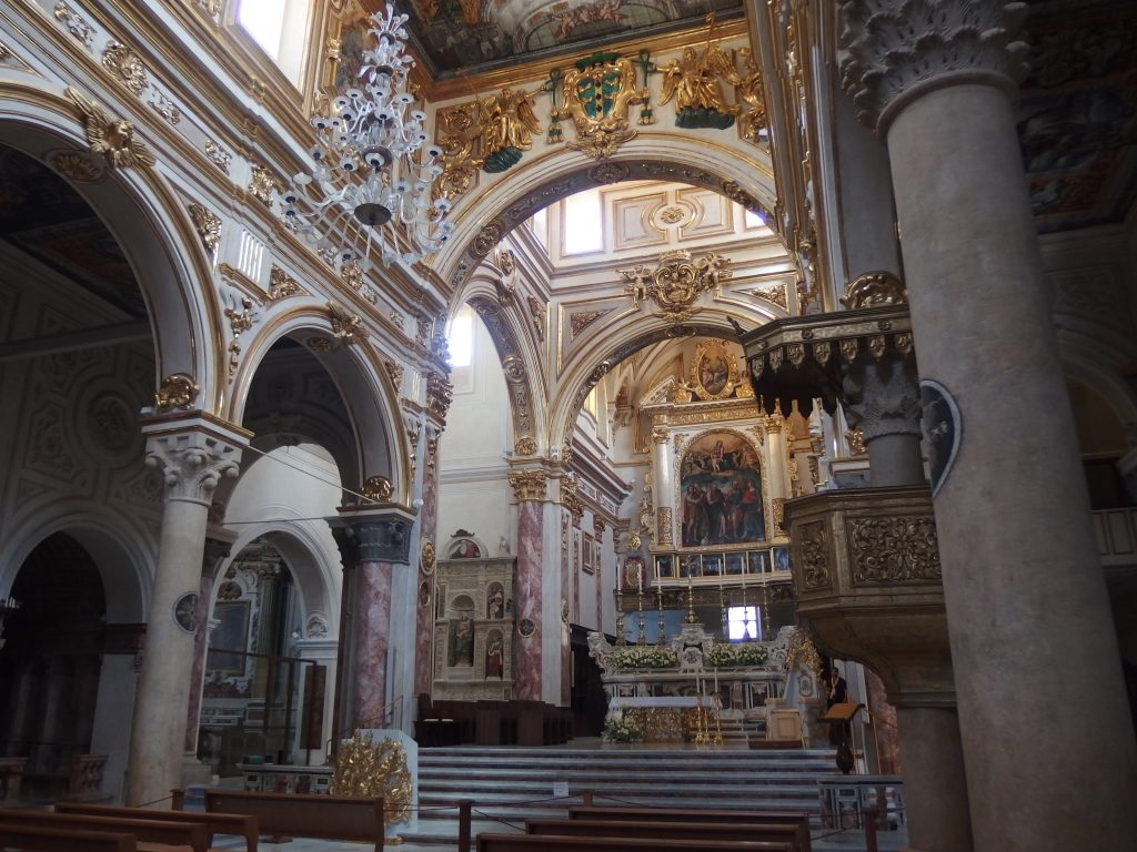 Matera Cattedrale Altare Centrale