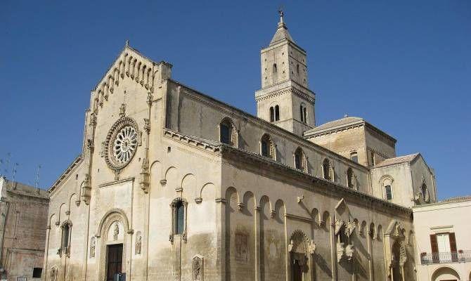 Matera Cattedrale facciata laterale