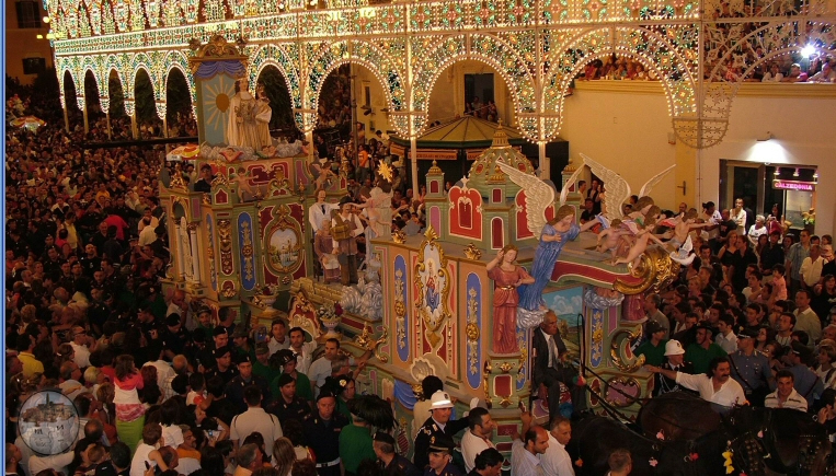 Matera Cattedrale Festa della Bruna