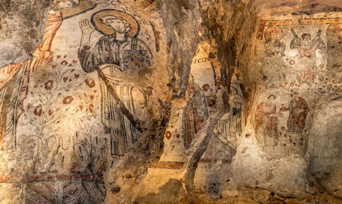 Paesaggio Cripta Peccato Originale