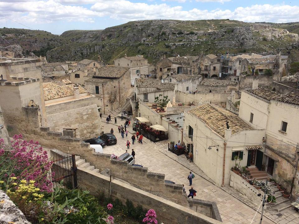 Sassi di Matera - Veduta dall'alto