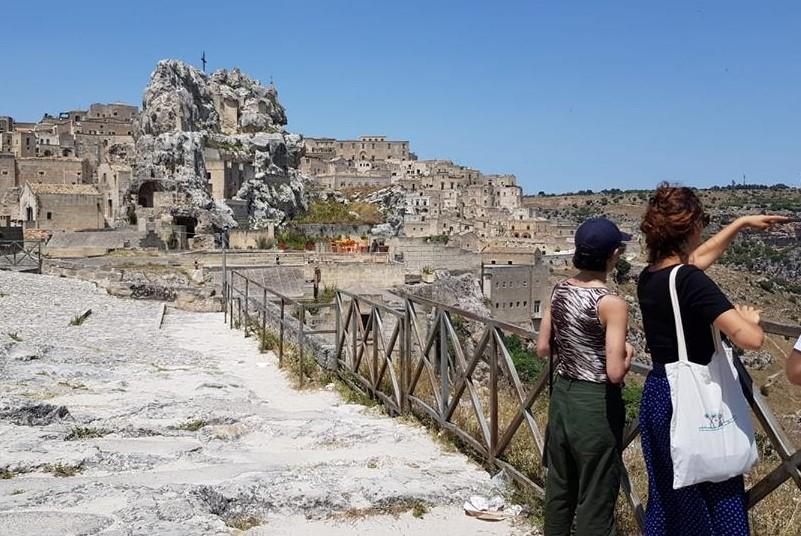 Sassi di Matera - Visitatori Stranieri